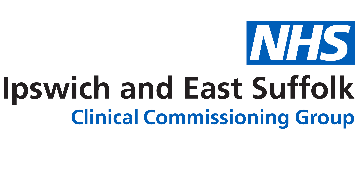 Ipswich and East Suffolk Clinical Commissioning Group and Suffolk County Council logo